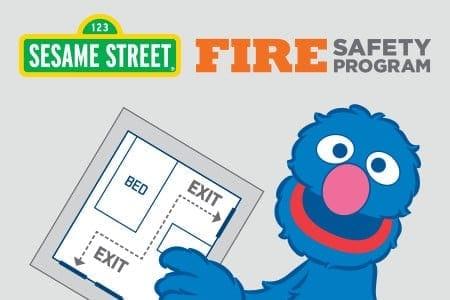Sesame Street Fire Safety Program Image