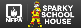 NFPA's Spark School House logo
