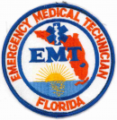 Florida EMT Patch