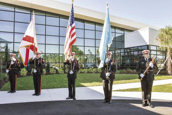 Deltona Fire Department Honor Guard