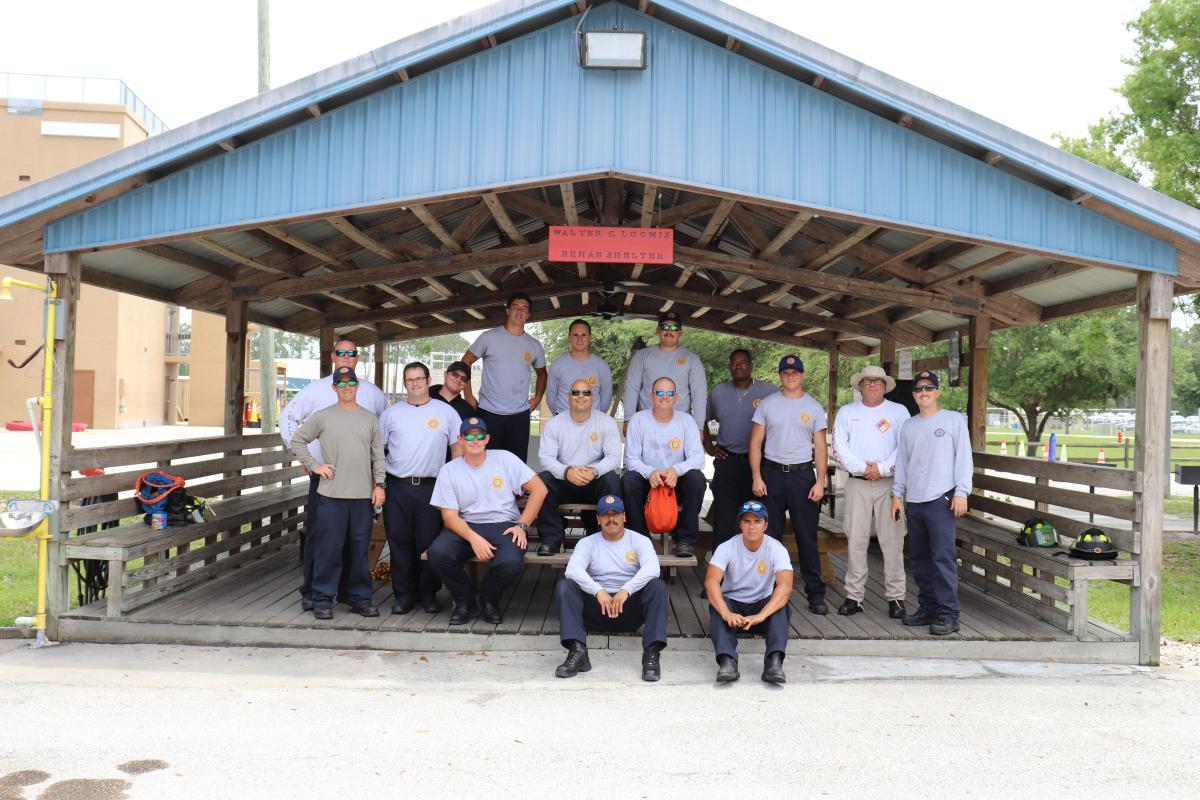 Team at Rope Rescue Training