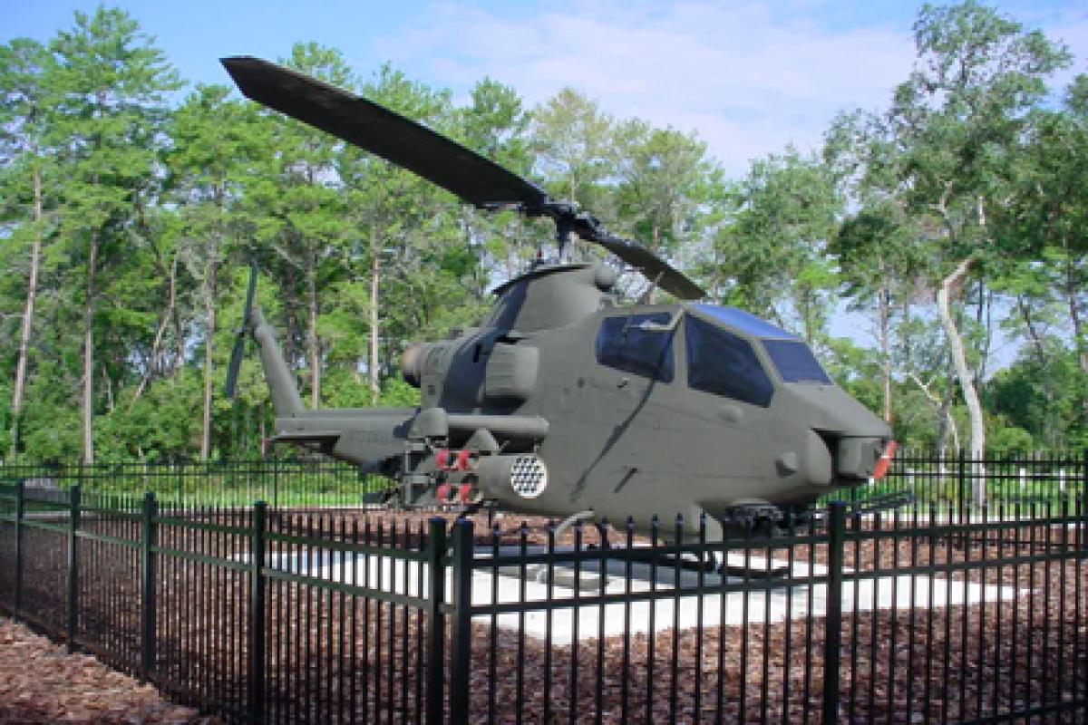 U.S. Army AH-1 Cobra Helicopter