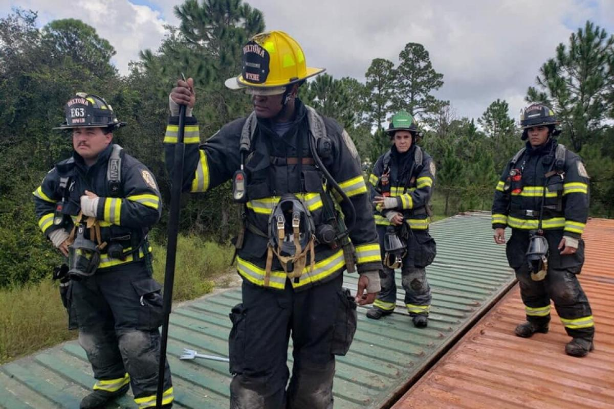Firefighters at Training