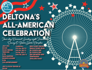 Deltona's All-American Celebration will be July 2-5 at the Dewey O. Boster Sports Complex