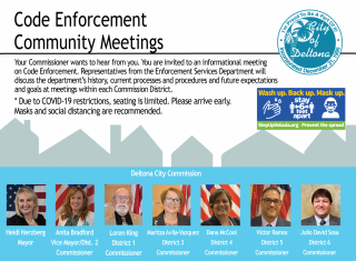 Code meetings planned in each Commission District