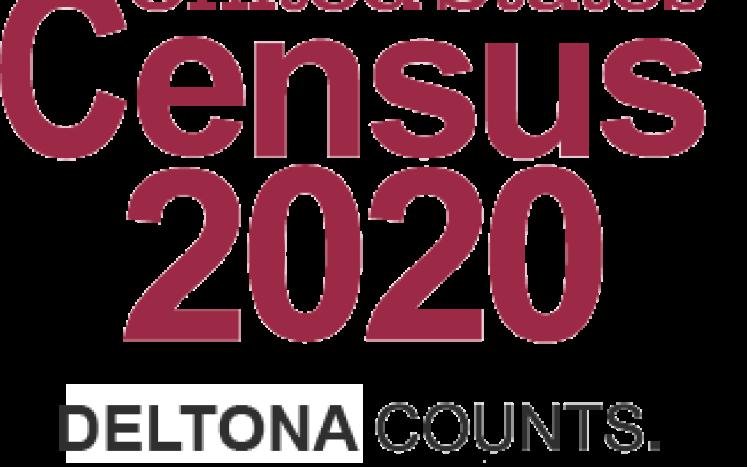 Census 2020 logo Deltona Counts Everybody Counts