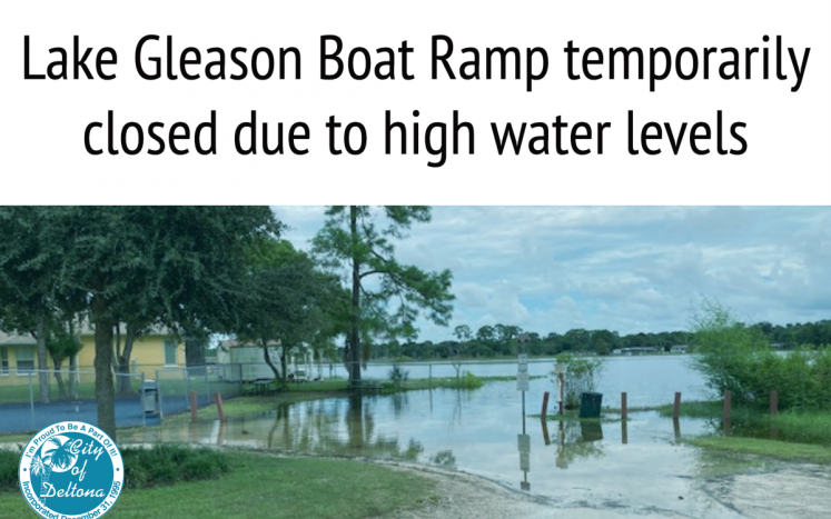 Boat ramp at Lake Gleason temporarily closed due to lake levels