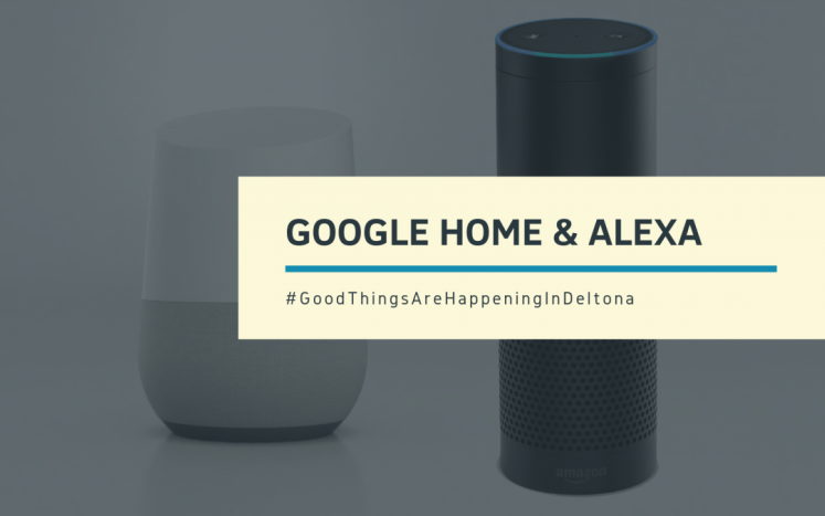 The City of Deltona's Ask Deltona Staff is available now from Google Assistant and Amazon Alexa and it will assist with question