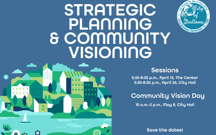 City plans public sessions for strategic planning, community visioning