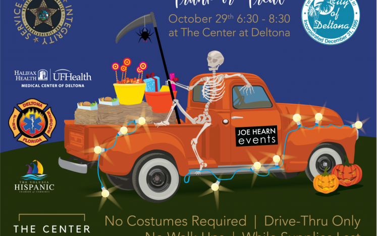 Trunk or Treat, Oct. 29 at The Center at Deltona